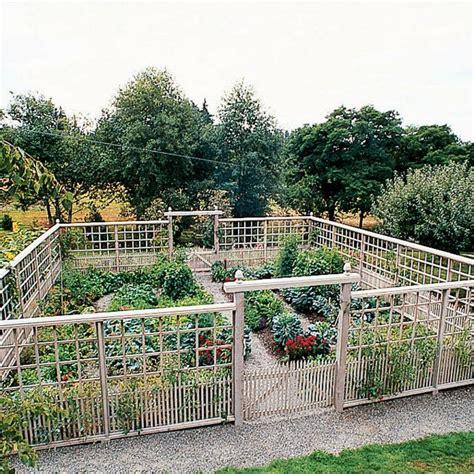 Deer Proof Vegetable Garden Garden Fencing Fences And Vegetable Garden Fencing