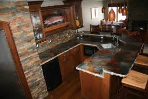 kitchen counter top design how to stain a concrete counter top using eco stain