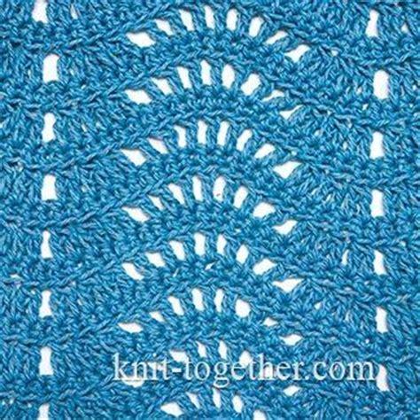 crochet wave ripple pattern stitch knitting bee 78 best images about crochet stitch patterns on pinterest