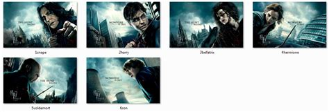 download themes windows 7 harry potter harry potter windows 7 theme free download gratis