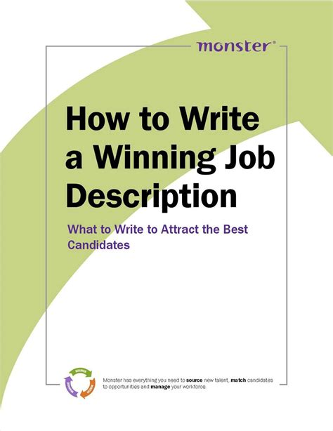 how to write a winning description free guide