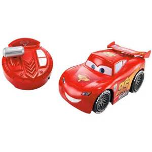 Lightning Mcqueen Car Remote Disney Lightning Mcqueen Remote Controlled Car Walmart