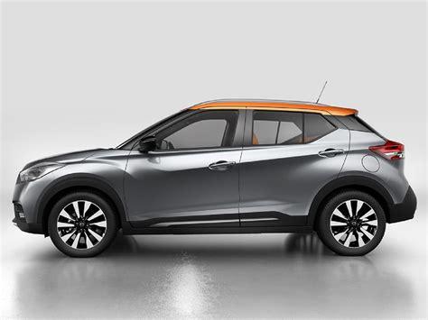 nissan kicks 2017 en m 233 xico color plata perfil autos