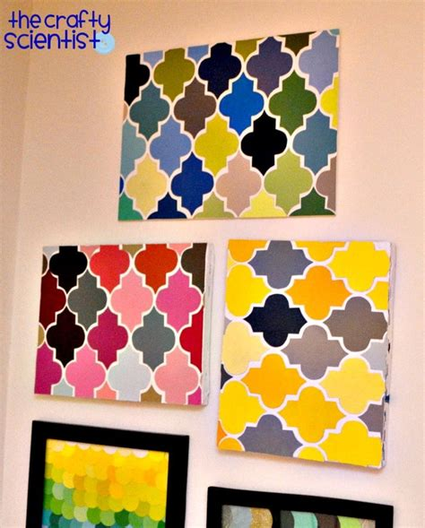 464 best paint chip crafts images on pinterest christmas cards christmas diy and paint charts