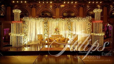 Best Pakistani Wedding Stages Decoration ideas and