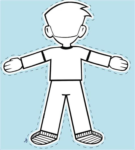 free printable flat stanley template free flat stanley coloring pages az coloring pages
