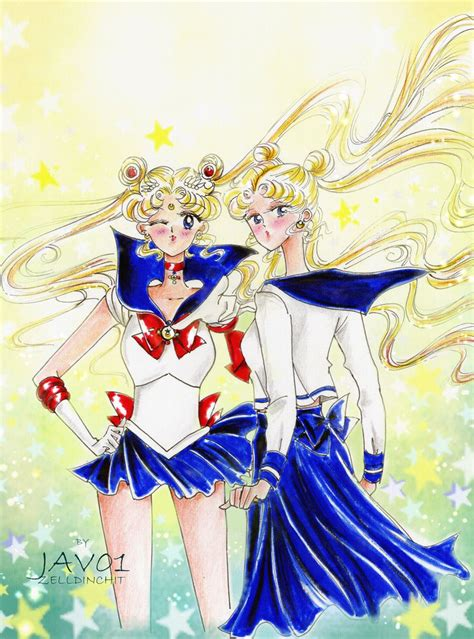 Promo Sailor Moon 1 18t Naoko Takeuchi usagi sailor moon by zelldinchit on deviantart
