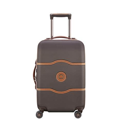 delsey cabin luggage delsey chatelet air 55cm cabin spinner caseluggage