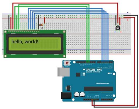tutorial lcd com arduino 6 display letters numbers and fun characters on lcd