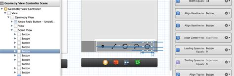 autolayout view size iphone uiscrollview auto layout content size not set