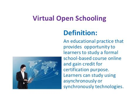 formal credit definition open schooling in india