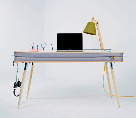 working desk oxymoron desk blends the best of work home surfaces