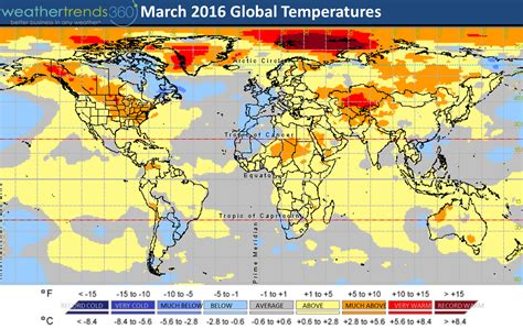 us weather map in march march 2016 weather roundup weathertrends360