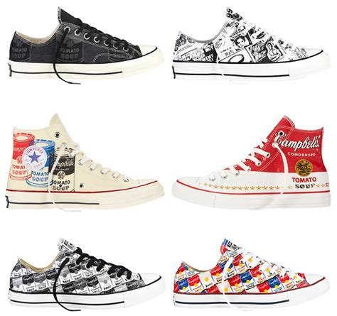 Converse Ct Andy Warhol andy warhol x converse chuck all collection