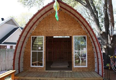 diy arched cabin 70 best arched cabins images on quonset hut
