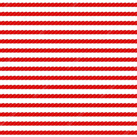 red white pattern vector navy rope stripes in red and white seamless pattern