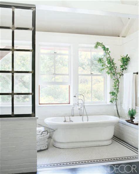 elle decor celebrity homes 16 celebrity bathrooms chic bathroom decor inspiration
