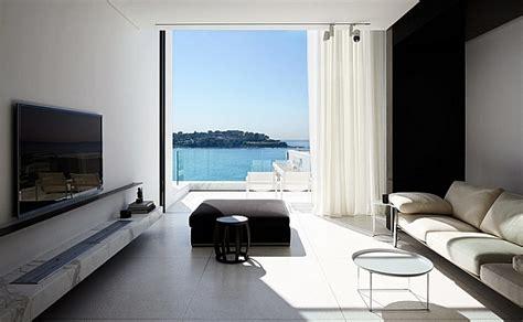 black  white living rooms design ideas