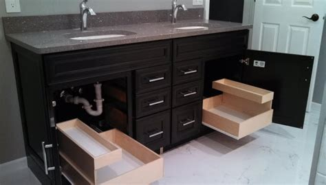 bathroom vanity slide out shelves bathroom vanity pull out shelves bathroom the pull out