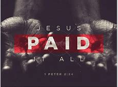 Jesus Paid It All Easter Sermon PowerPoint | Easter Sunday ... Jesus Nail Clip Art