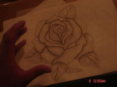 how to draw a traditional rose tattoo the gallery for gt roses to draw