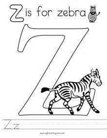 z coloring letter z coloring page 2