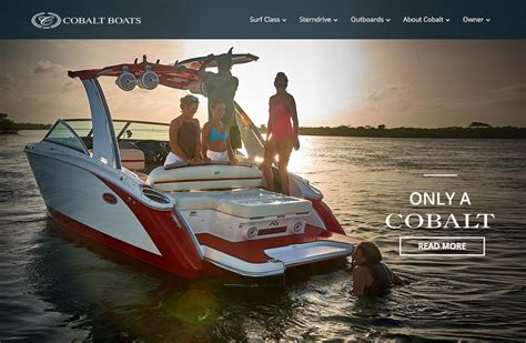 cobalt boats home cobalt boats performance and luxury in boating