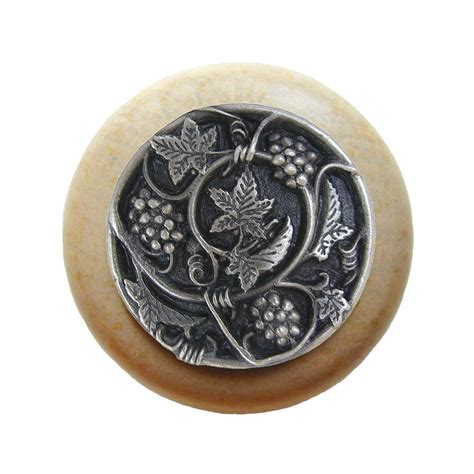 Notting Hill Knobs by Notting Hill Tuscan 1 1 2 Inch Diameter Antique Pewter