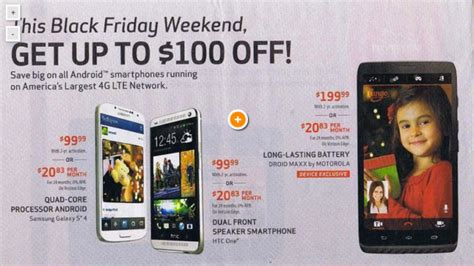 verizon deals black
