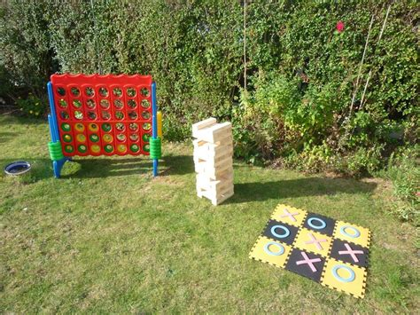 Gamis Gardenia garden jenga connect 4 and noughts crosses