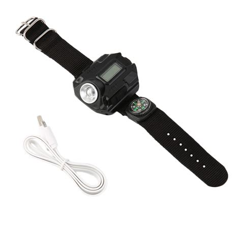 Wrist Light by New Rechargeable Outdoor Led Flashlight Wrist Light
