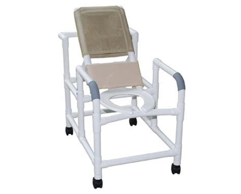 Reclining Commode mjm reclining shower chair with commode pail save at tiger inc