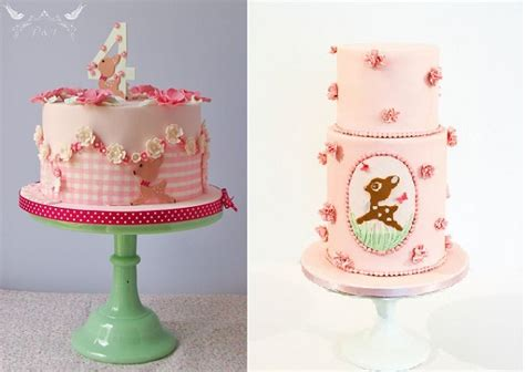 Baby Deer Cakes for a Woodland Party or Baby Shower   Cake Geek Magazine