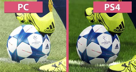 pes 2016 ps4 review still in title winning form pes 2016 graphics comparison pc vs ps4 tech4gamers