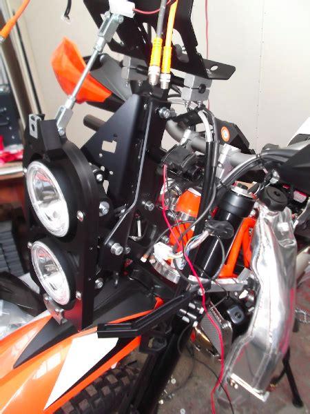Motorrad Teile Eloxieren Lassen by Ktm 690 Enduro R Rallyevorbau Teil 1 Rettet Peter De