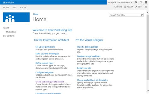 sharepoint portal templates s sharepoint sharepoint 2013 oob look and feel with