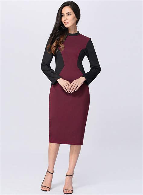 Patchwork Midi Dress s fashion patchwork midi bodycon dress roawe
