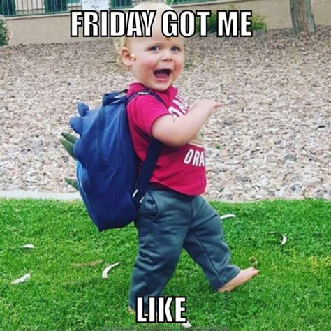 Its Friday Meme Funny - best 25 happy friday meme ideas on pinterest happy