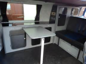 How To Make Platform Bed With Storage - campervan conversion examples west country campervans