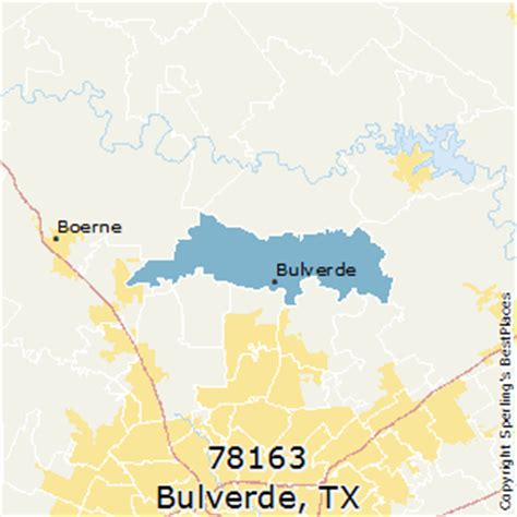 map of bulverde texas best places to live in bulverde zip 78163 texas
