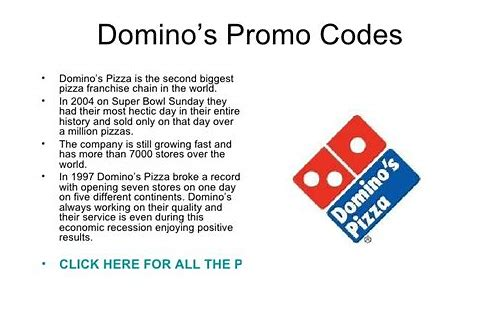 dominos delivery coupon codes 2018