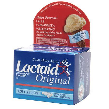 lactaid original strength lactase enzyme supplement