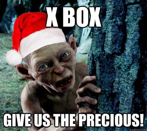 Gollum Meme - x box give us the precious christmas gollum quickmeme