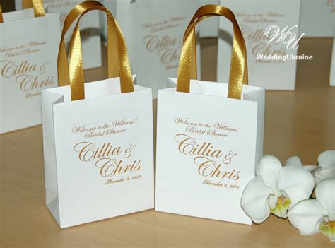 elegant gift bags bridal party gift bag personalized