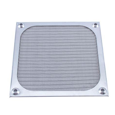 pc fan dust filter 120mm fan aluminum dustproof cover dust filter for pc