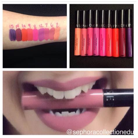 Sephora Lip Stain 10 new shades of sephora s lip stain coming look at