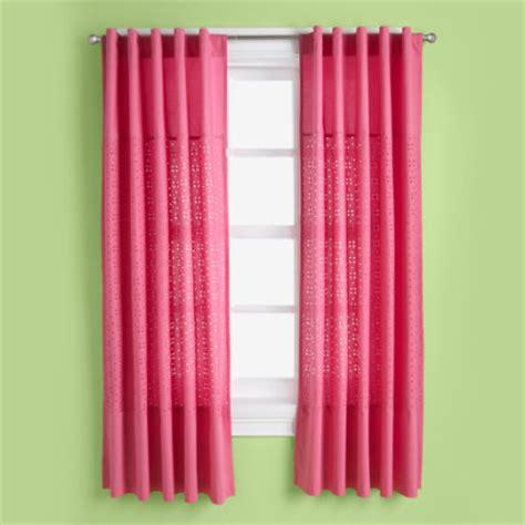pink kids curtains curtains kids room decor