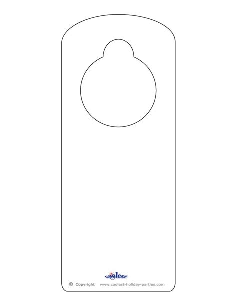 door knob template 25 best ideas about door hanger template on