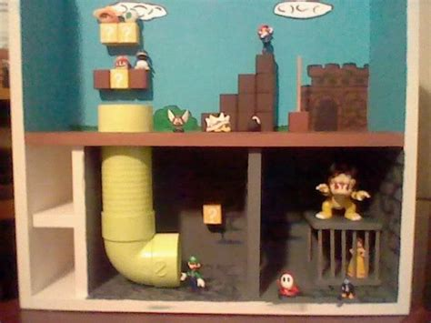 home  super mario playset super mario room mario
