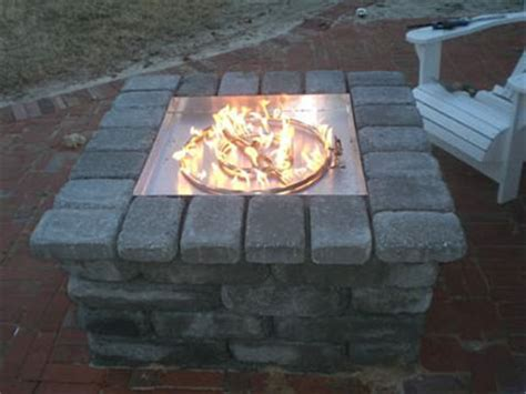 Propane Firepit Kit Custom Size Propane Burner Pan For Pits Fireplaces Propane Ventless Burner And Or Gas